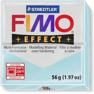 Fimo Effect - 56 gram - Blå iskvarts 306