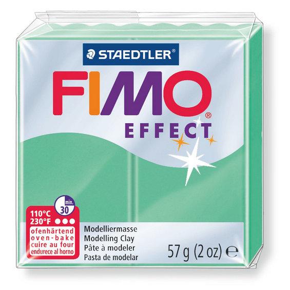 Fimo Effect - 56 gram - Jade grön 506