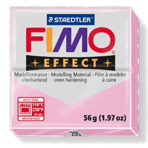 Fimo Effect - 56 gram - Rosa pastell 205