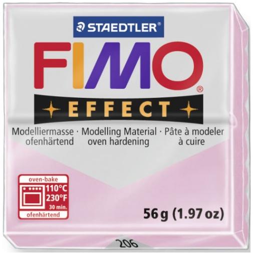 Fimo Effect - 56 gram - Rosenkvarts 206