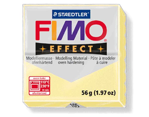Fimo Effect - 56 gram - Vanilj pastell 105