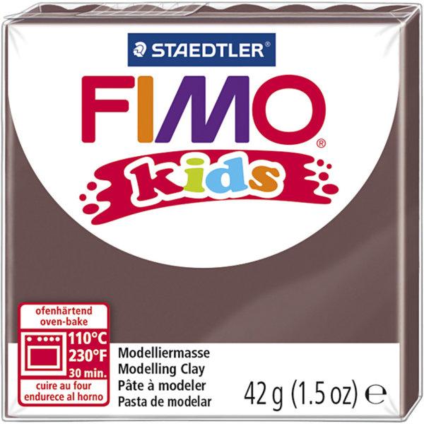 Fimo kids - 42 gram - Brun 7