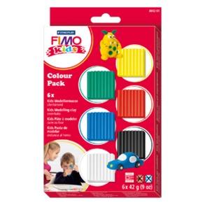 Fimo Kids - basic färg pack