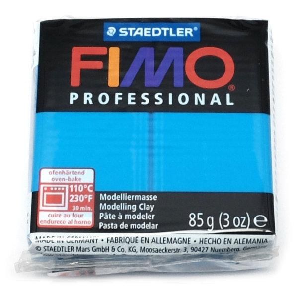 Fimo Professional - 85 gram - Äkta blå 300