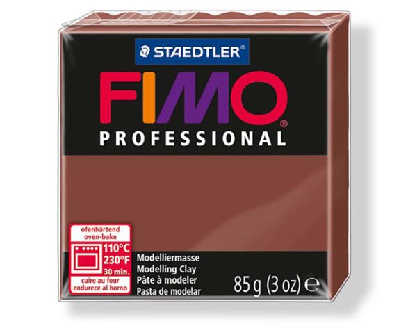 Fimo Professional- 85 gram - Choklad 77