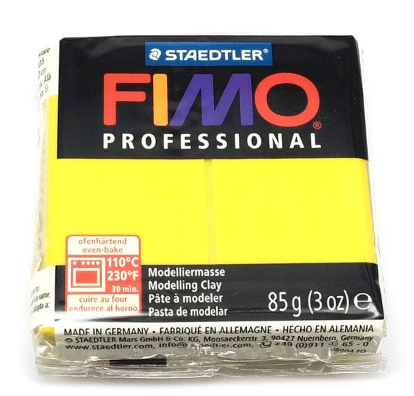 Fimo Professional - 85 gram - Citrongul 01