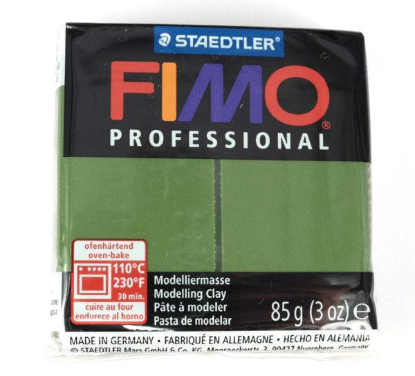 Fimo Professional - 85 gram - Lövgrön 57