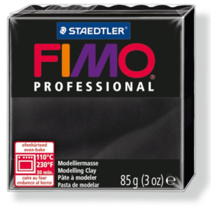 Fimo Professional - 85 gram - Svart 9