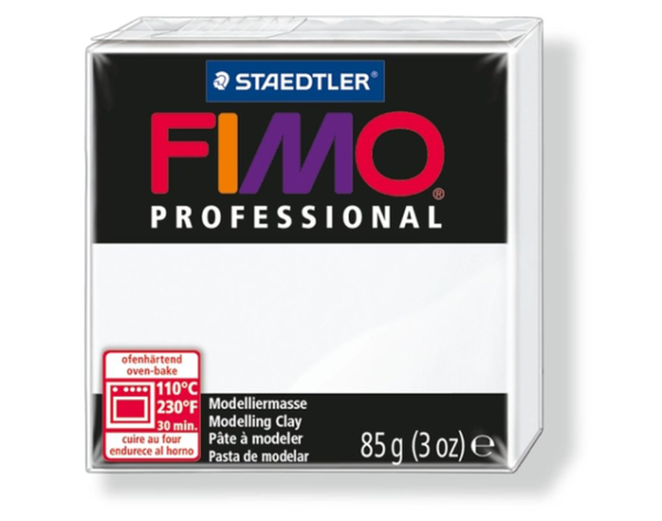 Fimo Professional - 85 gram - Vit 00