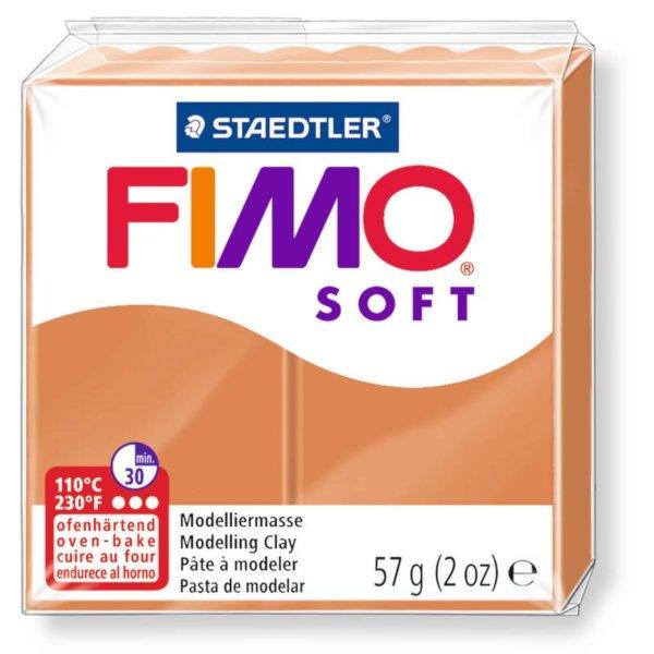 Fimo Soft - 56 gram - Cognac 76