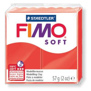 Fimo Soft - 56 gram - Indianröd 24