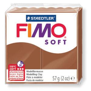 Fimo Soft - 56 gram - Ljusbrun 7