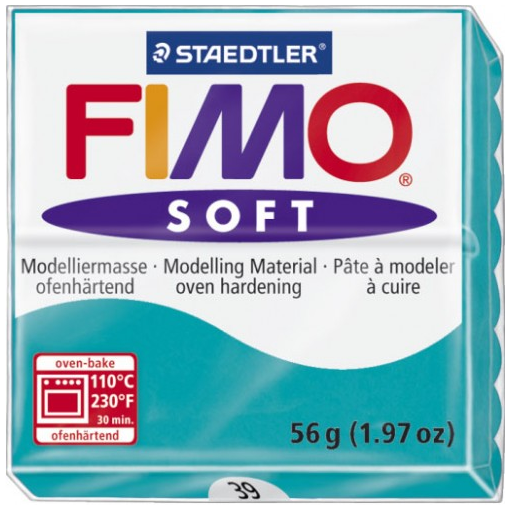 Fimo Soft - 56 gram - pepparmint 39