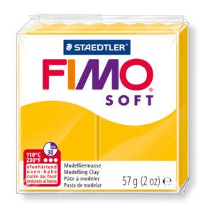 Fimo Soft - 56 gram - Solros gul 16